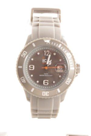 Ice watch Digitaluhr grau-silberfarben sportlicher Stil