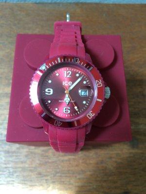 Ice-Watch dunkel rot