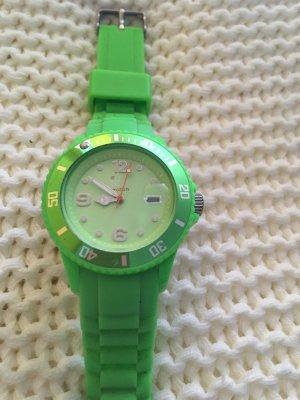 Swatch Montre numérique vert prairie matériel synthétique