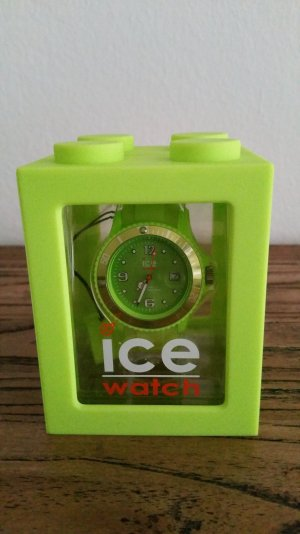 Ice watch Orologio analogico verde neon