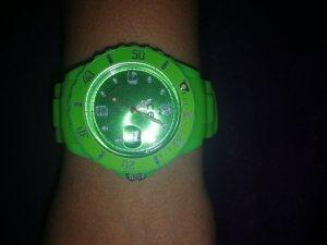 Analog Watch lime-green-neon green