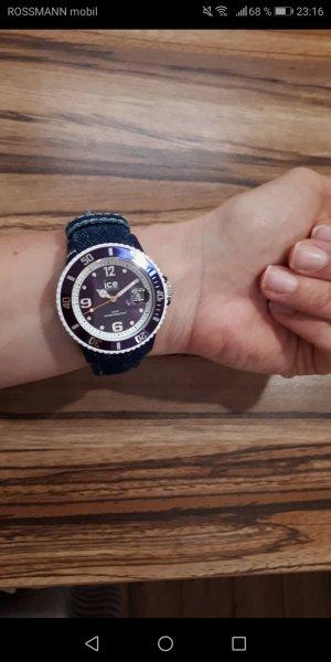 "Ice Watch mit ""Jeansarmband"""