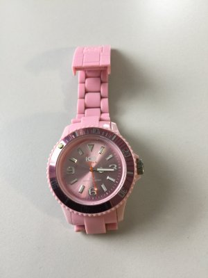 Ice watch mit rosa Metallic Zifferblatt