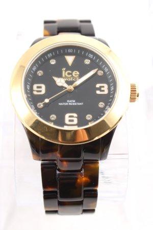 Ice watch, NEU & UNGETRAGEN, braun/gold
