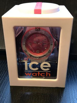 Ice Watch pink weiß neu