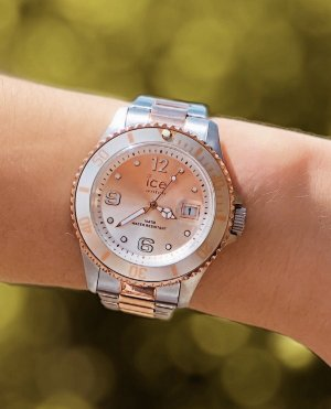 Ice watch Watch With Metal Strap silver-colored-rose-gold-coloured