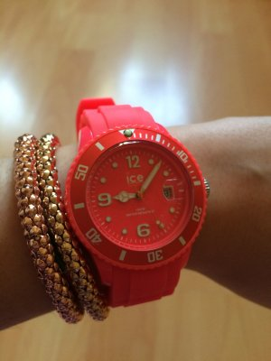 Ice-Watch Uhr in Neon-Rot