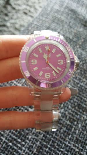 Ice Watch Uhr lila metallic