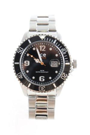 Ice watch Uhr mit Metallband silberfarben Elegant