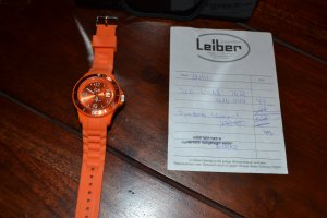 Ice Watch Uhr orange