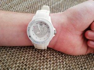 Ice Watch Weiss Swarovskiherz groß