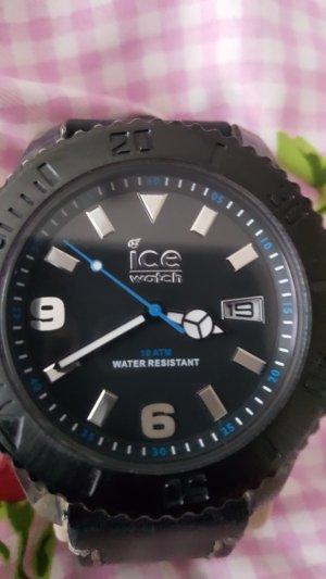 Ice watch Orologio con cinturino di pelle nero