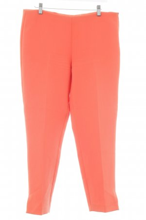 Iceberg Bundfaltenhose neonorange Business-Look