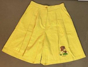 Iceberg Shorts yellow-dark yellow cotton