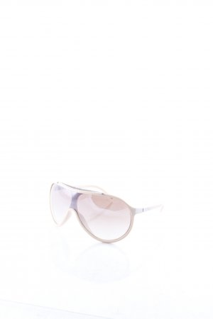 Iceberg Oval Sunglasses nude-silver-colored street-fashion look