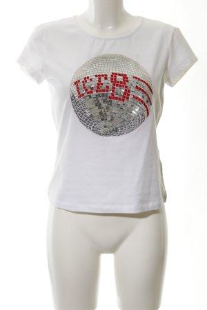 Iceberg T-shirt stampa stile casual