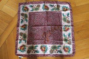 ICEBERG Tuch aus Seide pink Leoprint wie NEU 70 x 70