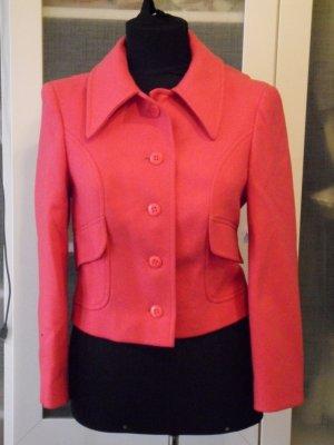 ICEMPER Vintage Woll Blazer Gr 36 fuchsia top Zustand