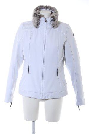 Icepeak Veste double blanc-beige style décontracté