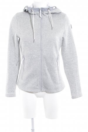 Icepeak Hooded Vest light grey-white flecked casual look
