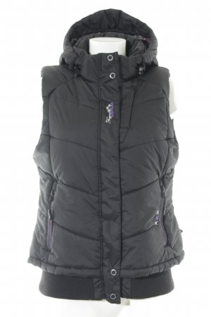 Icepeak Hooded Vest black casual look