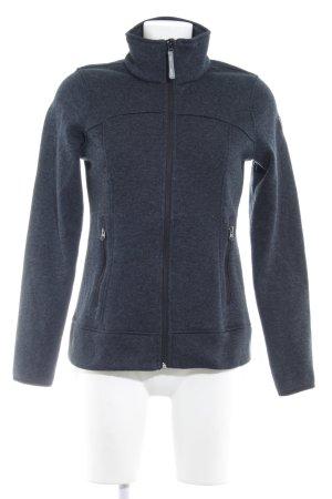 Icepeak Norweger Strickjacke dunkelblau-schwarz sportlicher Stil