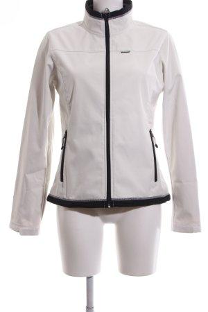 Icepeak Outdoorjacke schwarz-wollweiß sportlicher Stil