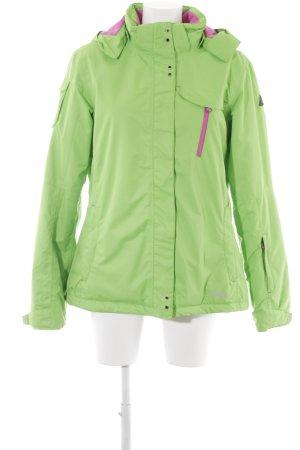 Icepeak Outdoorjacke hellgrün-pink sportlicher Stil