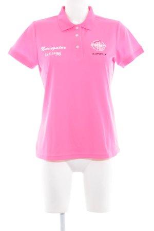 Icepeak Polo-Shirt Schriftzug gedruckt sportlicher Stil
