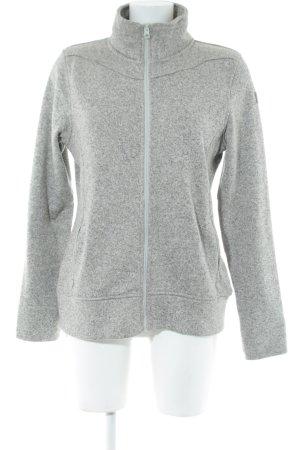 Icepeak Shirtjacke weiß-hellgrau meliert sportlicher Stil