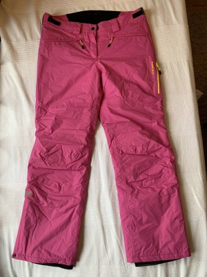 Icepeak Pantalone da ginnastica fucsia neon-giallo