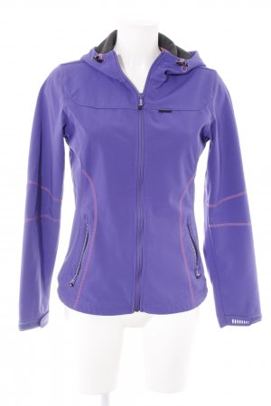 Icepeak Softshelljacke blauviolett sportlicher Stil