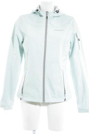Icepeak Softshelljacke mint-grau sportlicher Stil