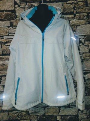 Icepeak Giacca con cappuccio bianco-blu acciaio
