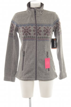 Icepeak Sweatjack abstract patroon atletische stijl