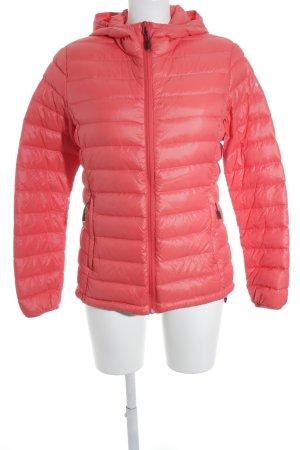 Icepeak Übergangsjacke hellrot-silberfarben sportlicher Stil