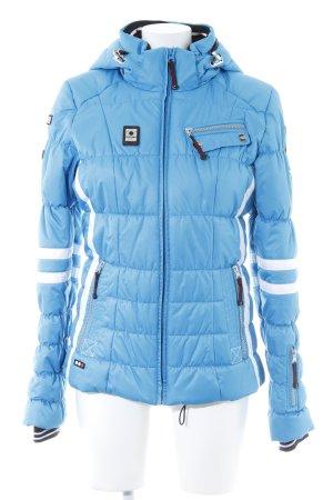 Icepeak Winterjacke himmelblau sportlicher Stil