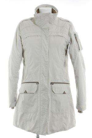 Icepeak Manteau d'hiver beige clair-brun foncé style décontracté