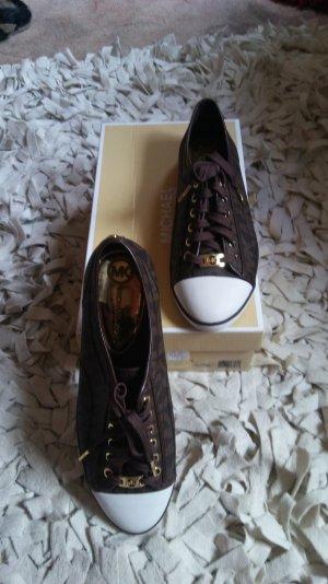 Ich verkaufe braune Michael Kors Sneaker Neu!!! Größ 9,5