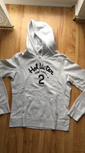 Ich verkaufe einen weißen Hollister&co Pullover in weiß Größe M