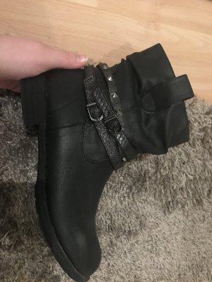 Gina Korte laarzen zwart