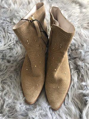Zara Tronchetto color cammello-oro