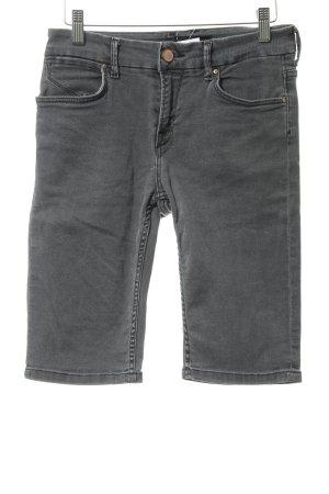 Ichi 3/4 Jeans dunkelgrau Casual-Look
