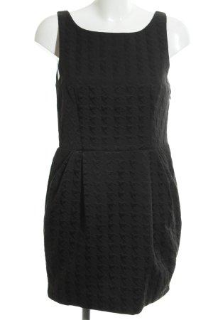 Ichi A-Linien Kleid schwarz Elegant