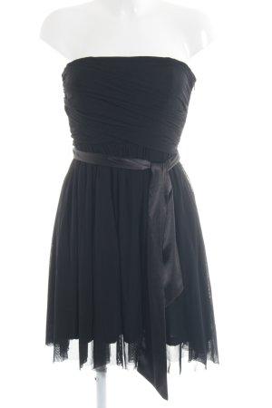 Ichi Bandeaukleid schwarz minimalistischer Stil