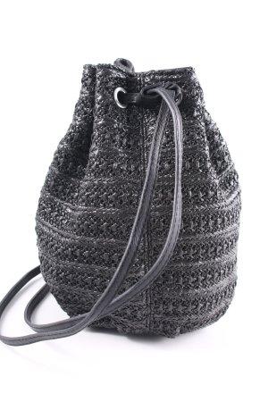 Ichi Pouch Bag black street-fashion look
