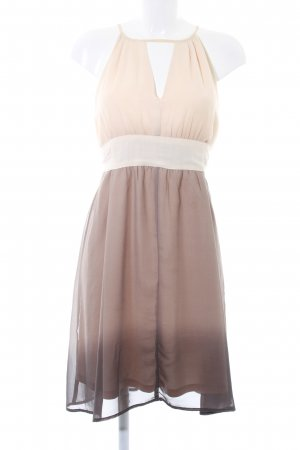 Ichi Cocktailkleid nude-grau Farbverlauf Elegant
