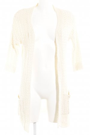 "Ichi Coarse Knitted Jacket ""Nola"" cream"