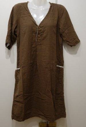 ICHI Japan Shirtkleid Gr. S/M Boho Hippie Mori Girl Shabby Chic Lagenlook