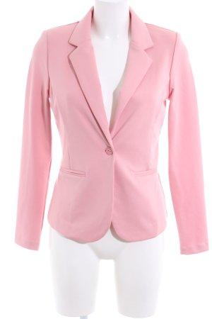 Ichi Jersey Blazer pink business style